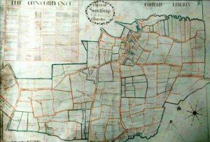 1755 Map of Southrop